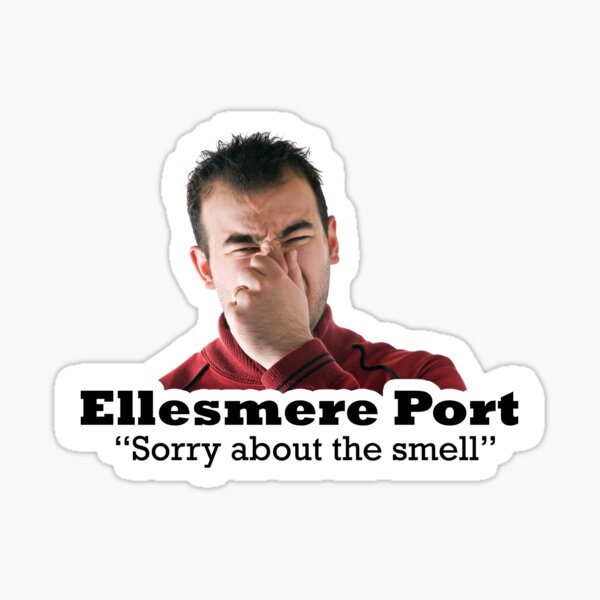 Sorry About the Smell Sticker