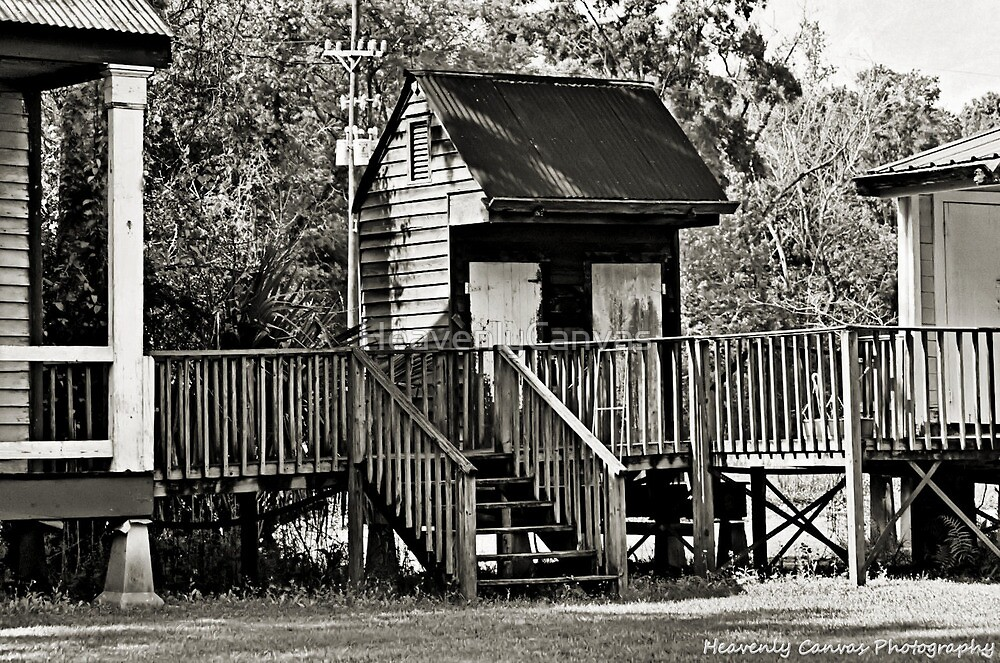 The Little Cajun Shed by HeavenlyCanvas