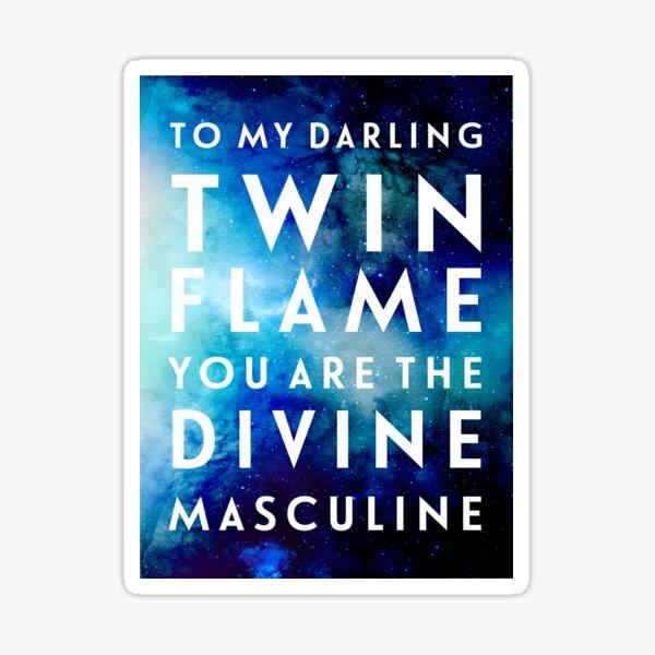 To The Divine Masculine Sticker