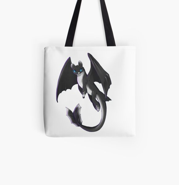 nightlight-httyd3 All Over Print Tote Bag