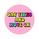 say yikes and move on by lolosenese