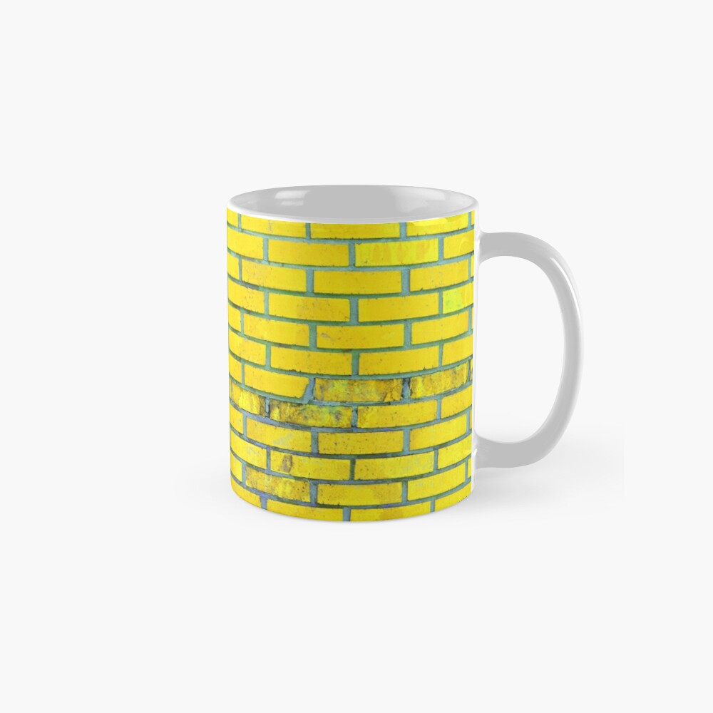 Yellow bricks Mug