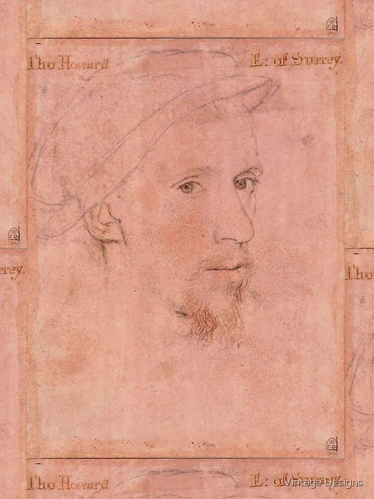 The Earl of Surrey , by Hans Holbein the Younger by Geekimpact