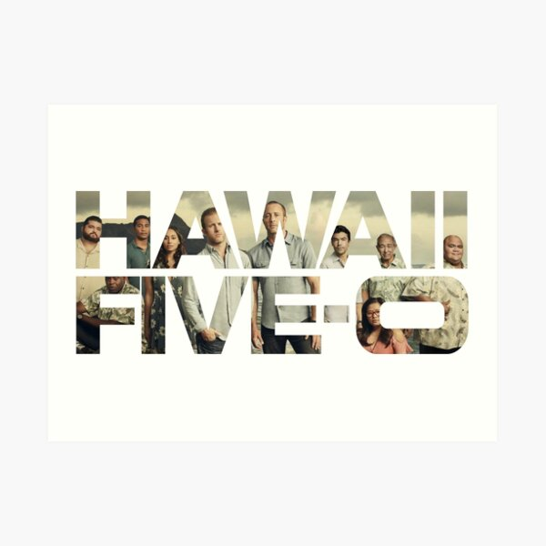 HAWAII FIVE-0 (LOGO) Art Print