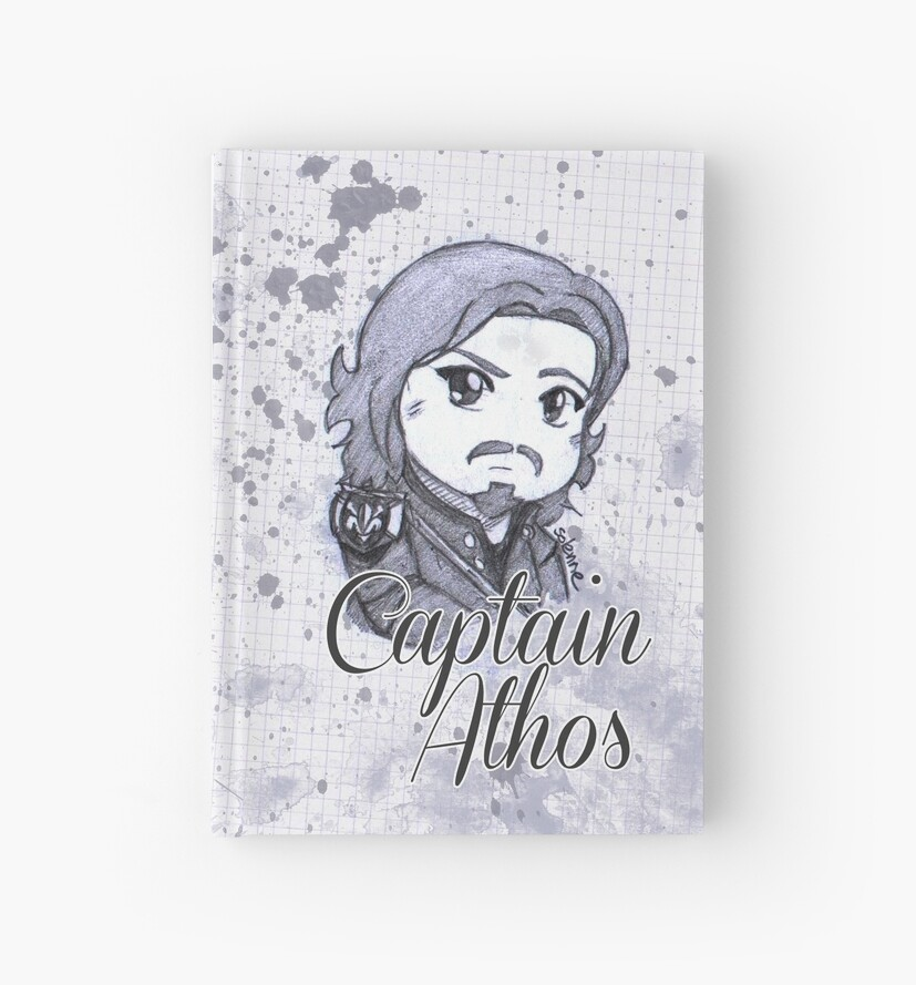 Sketch Captain Athos by Solenne