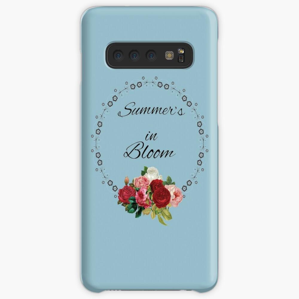 Summer's in Bloom Case & Skin for Samsung Galaxy