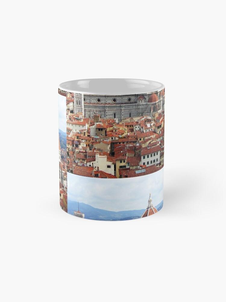 Alternative Ansicht von Duomo Florenz Italien Tassen