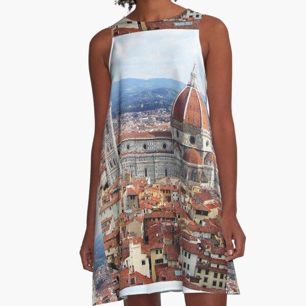 Duomo Florence Italy A-Line Dress