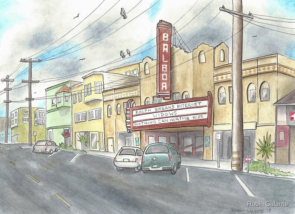 Balboa Theater  by Robin Galante