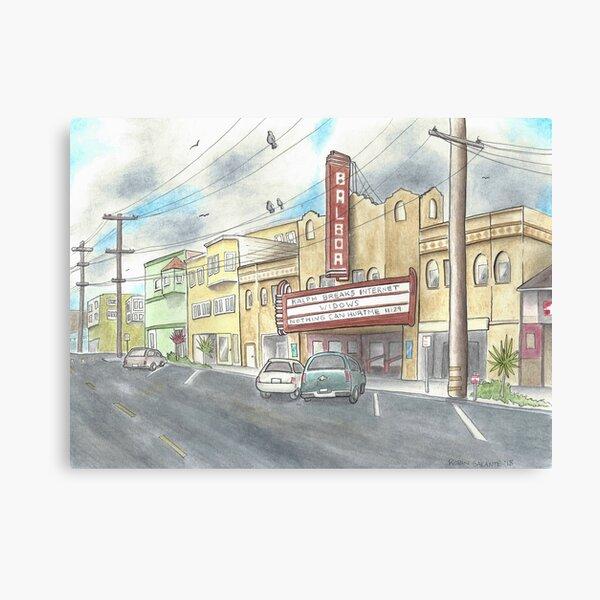 Balboa Theater  Canvas Print