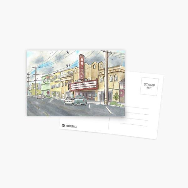 Balboa Theater  Postcard