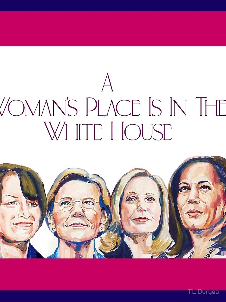 A Woman's Place (with Border) by FloraAndMay