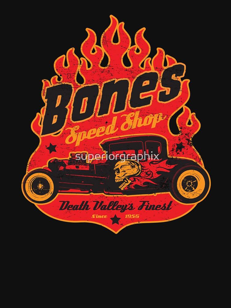 Bones Speed Shop | Unisex T-Shirt