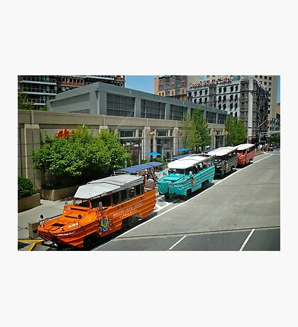 Boston Duck Boat - Tours © 2010 May Photographic Print