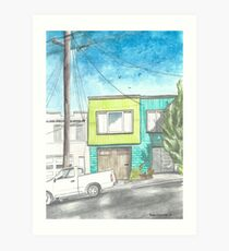 """Home by the Beach"" by Robin Galante Art Print"