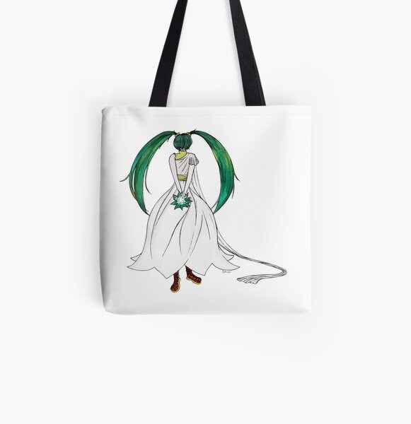 Flower Girl : Muguet (Lily of the valley) All Over Print Tote Bag