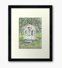 """""""Sutro Gazebo"""" by Robin Galante Framed Print"""