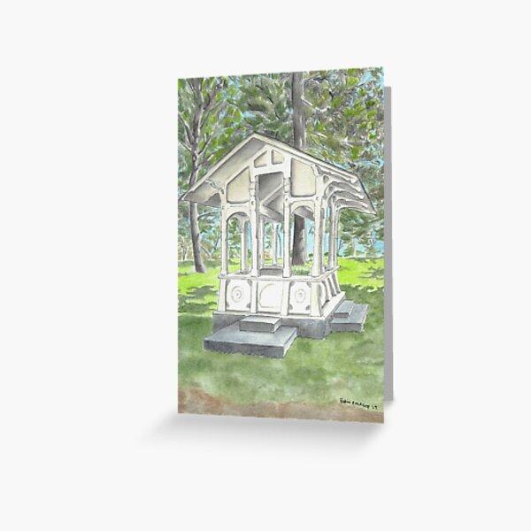"""Sutro Gazebo"" by Robin Galante Greeting Card"