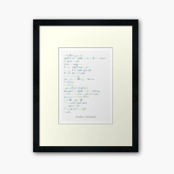 The Laughing Heart Framed Art Print