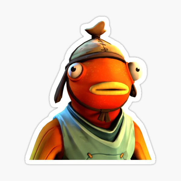 Fishstick Sticker