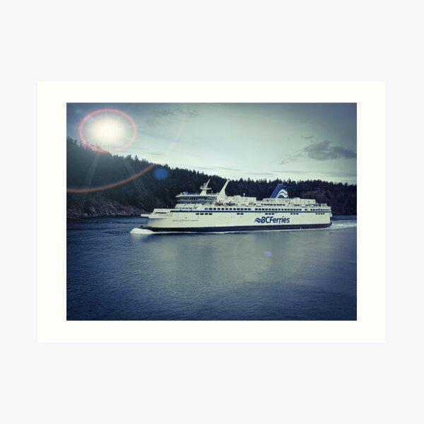 BC Ferries Art Print