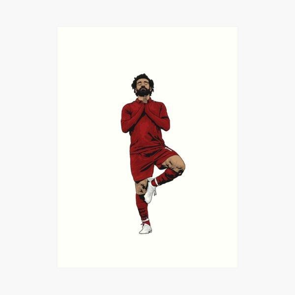 Yoga Mo Salah Art Print