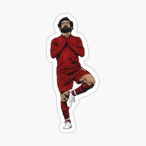 Yoga Mo Salah Sticker