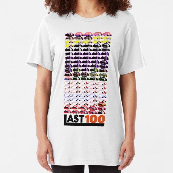 #LAST100 Paint Schemes 1991-2017 Slim Fit T-Shirt