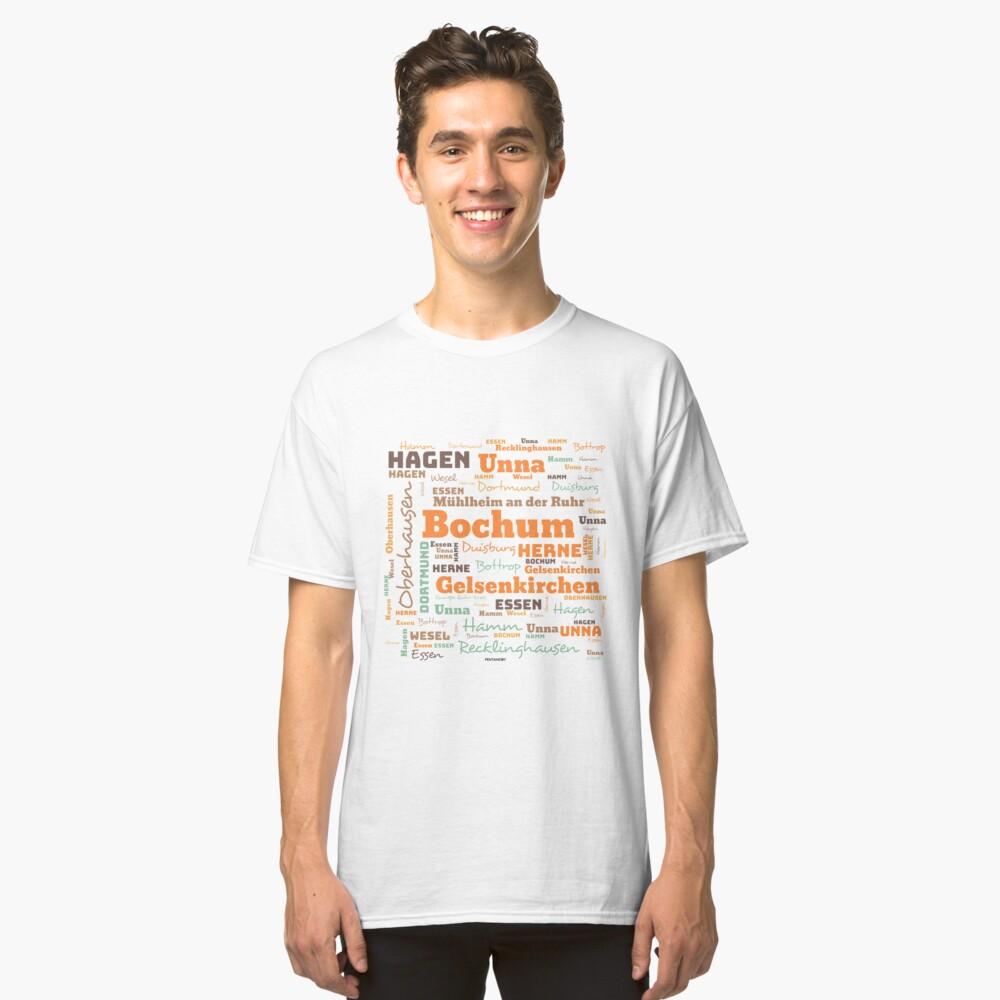 RUHRPOTT WORTWOLKE (colored) Classic T-Shirt
