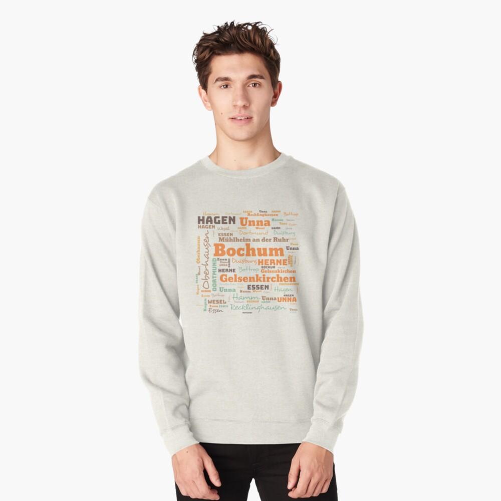 RUHRPOTT WORTWOLKE (colored) Pullover Sweatshirt