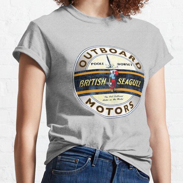 British Seagull Outboard motors UK Classic T-Shirt