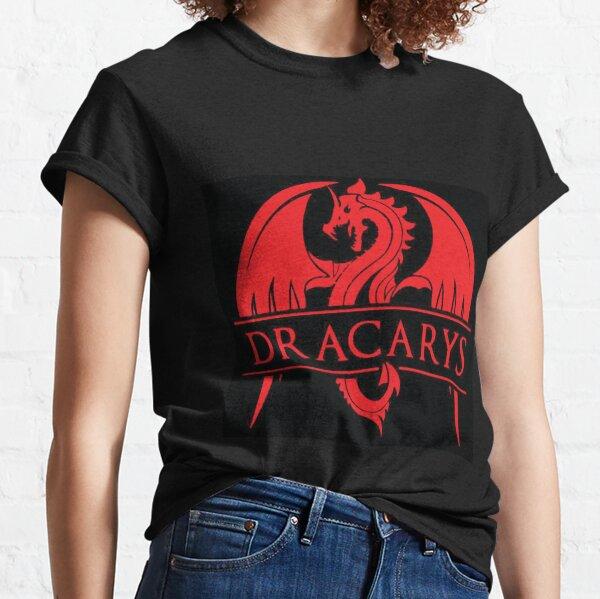 Dracarys Shirt - Dracarys tee - Dracarys t-shirt - Dragon Shirt - Red Dragon tshirt - Love dragons Classic T-Shirt