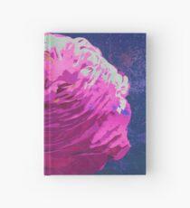 Pink Ranunculus Buttercup Floral Art Hardcover Journal