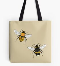 Bumblebee Illustrations Tote Bag