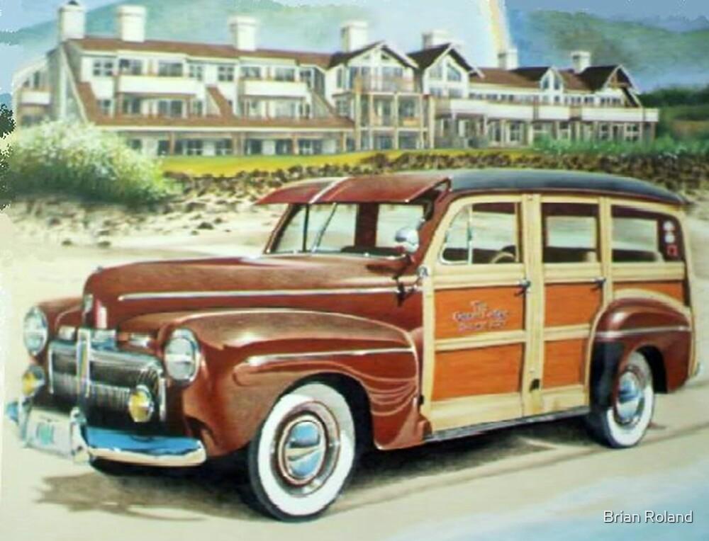 Ocean Lodge Woody Wagon by brianrolandart