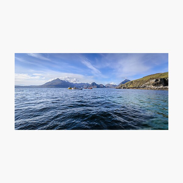 Elgol and the Cuillin Hills, Isle of Skye Photographic Print