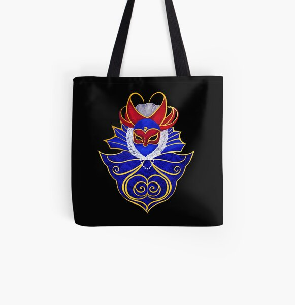 Carnival of Venice All Over Print Tote Bag