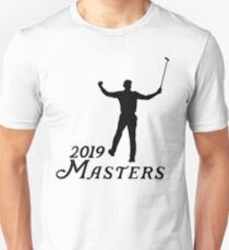 2019 Masters Tournament - Tiger Woods Slim Fit T-Shirt