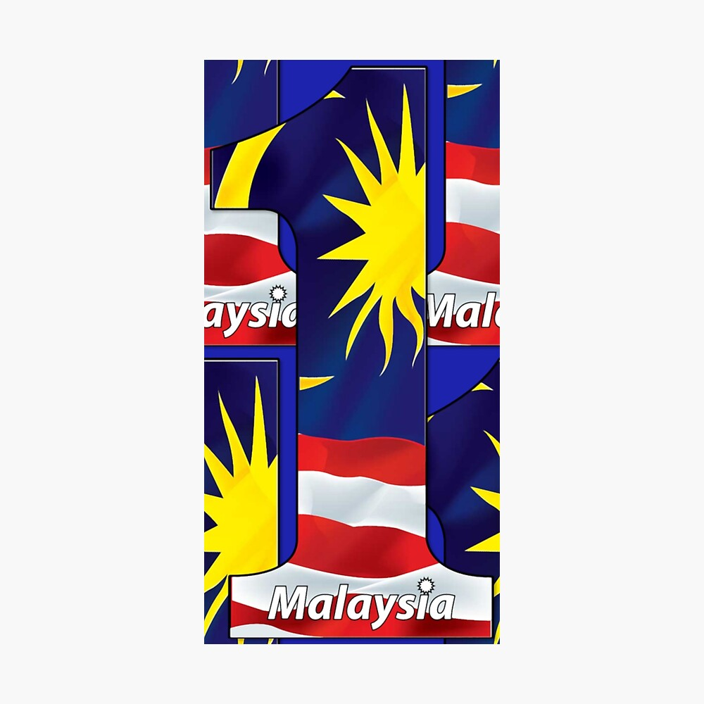 "1Malaysia"" Poster by brucianna 