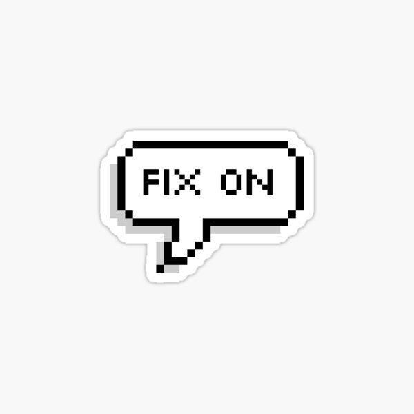 Fix On! Mingi (ATEEZ) Sticker