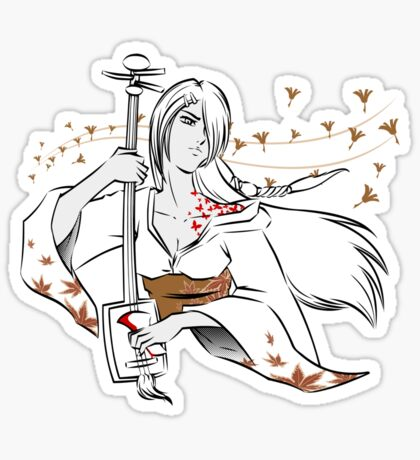 Our Lady of Autumn Revenge Sticker
