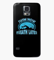 Schwimmen Brustschwimmen  Hülle & Skin für Samsung Galaxy