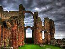Lindisfarne Priory (HDR) by Ryan Davison Crisp
