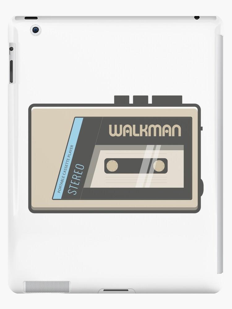 'Retro Walkman Music Player 80s Electronics' iPad Case/Skin by Florian  Rodarte