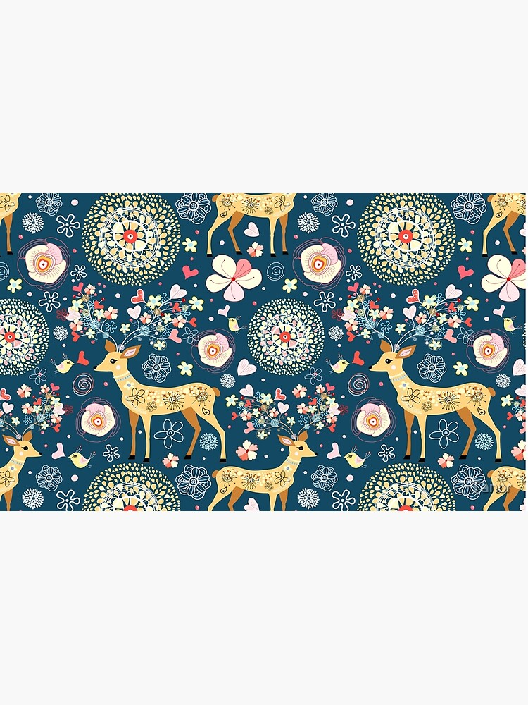 pattern festive reindeer by Tanor