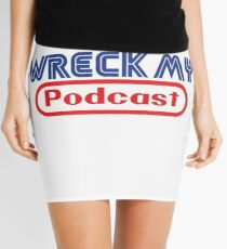 90's Gaming Font Mini Skirt