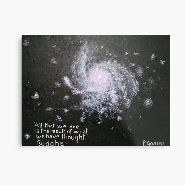 Power of Thought Metal Print