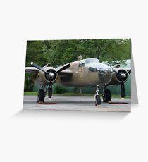 North American B-25  01 Greeting Card