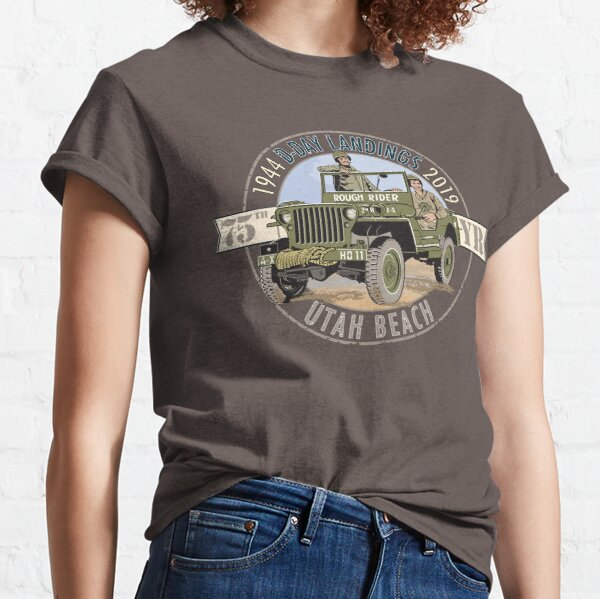 UTAH beach and the Rough Rider GP  Classic T-Shirt