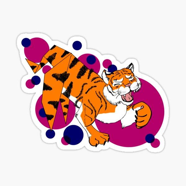 Paper Tiger Sticker